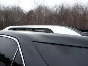 chevrolet equinox factory roof rack chrome trim 2010