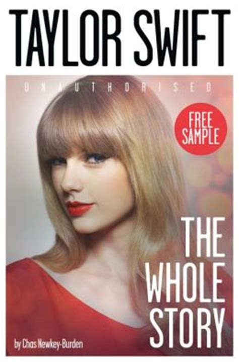 biography taylor swift book taylor swift the whole story free sampler by chas newkey