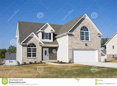 new house for sale new homes for sale stock photo image 3374790