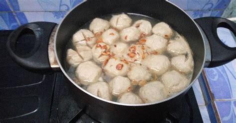 cara membuat bakso jamur tiram cara membuat kuah bakso 719 resep cookpad
