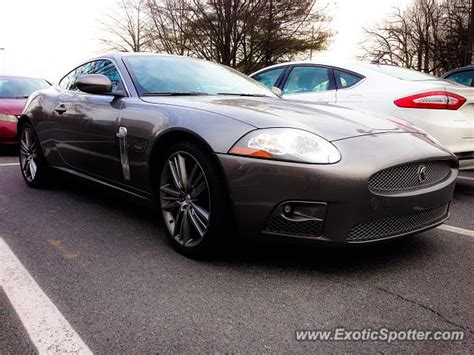 jaguar xkr spotted in bethesda maryland on 02 08 2015
