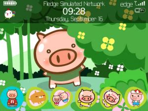 themes lucu bb gratis download tema blackberry kartun lucu teknol