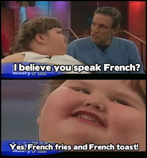 Fat Jokes Meme - fluent in french fat kid dancing know your meme