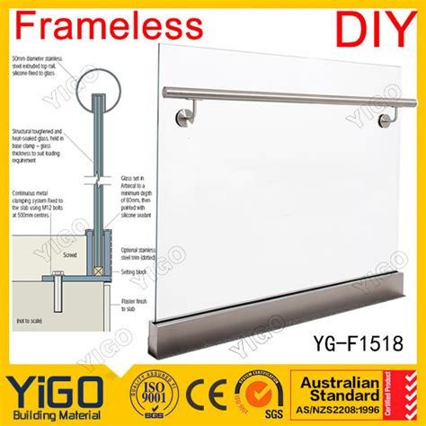 Harga Clear Glass 8mm fashion price parapet glass railing buy price parapet