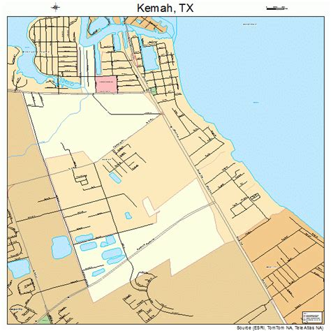kemah texas map kemah texas map 4838776