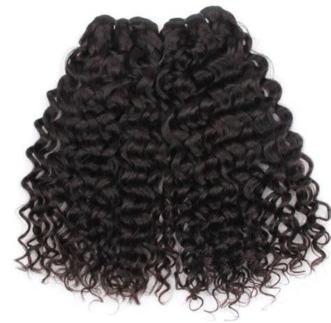 hairby minklittle mink brazilian curly deep wave hair bundle deals vhd