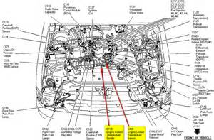 Ford Ranger Coolant Temperature Sensor Location 97 Ford Ranger Engine Temp Sensor Location Autos Post