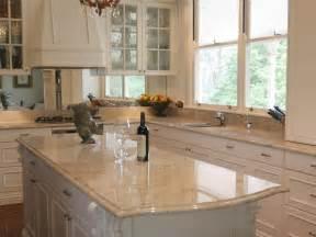 30mm ivory fantasy granite kitchen with lamb s tongue edge