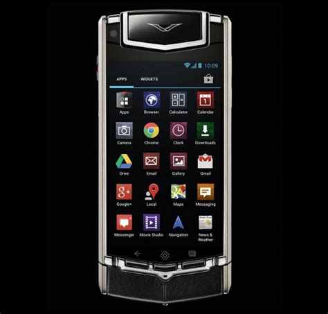 vertu mobile vertu ti luxury android smartphone expected to launch in