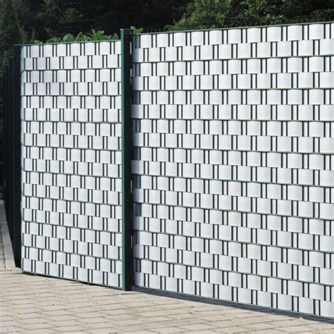 sichtschutzstreifen hart pvc sichtschutzstreifen hart pvc woodline aluminium