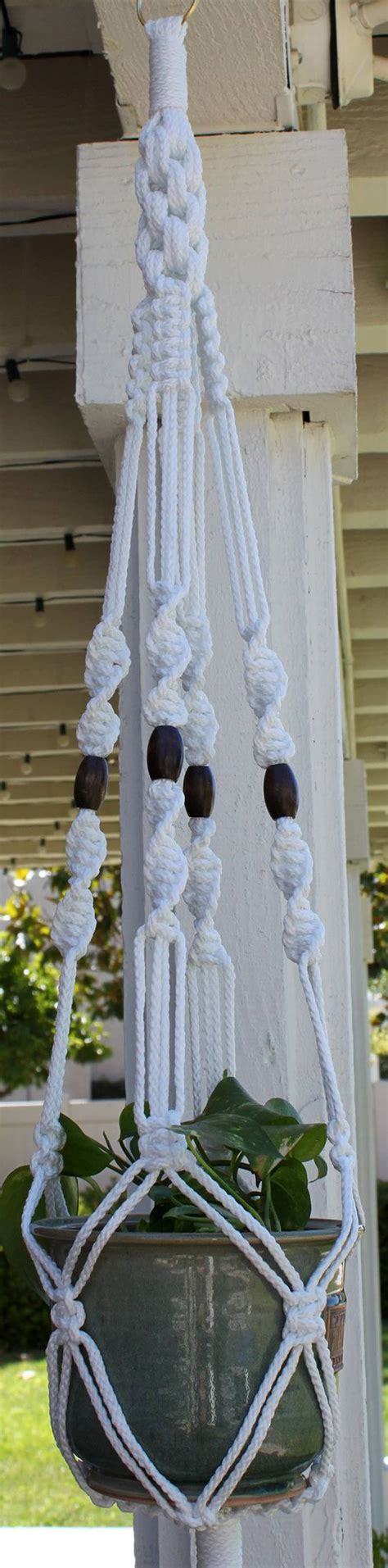 Macrame Plant Hanger Patterns - macrame plant hanger patterns to embellish any rustic or