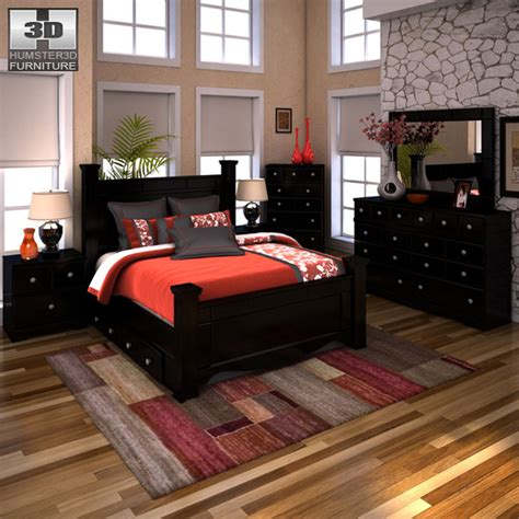 Shay King Bedroom Set by Furniture Shay Bedroom Set Bedroom At Real Estate