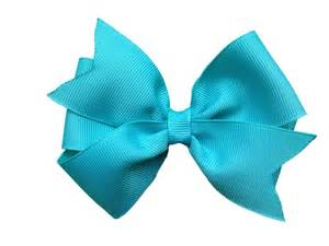 hair bow 4 inch turquoise hair bow turquoise bow by browneyedbowtique