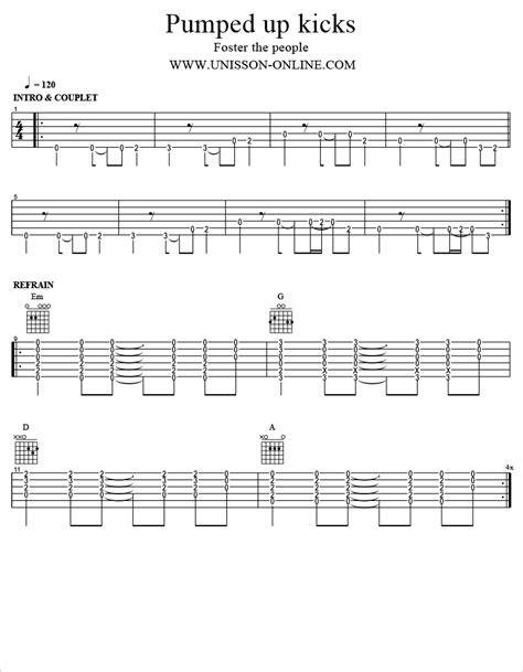 Perfect Pumped Up Kicks Guitar Chords Component - Basic Guitar ...