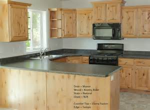 alder wood cabinets kitchen kitchens with knotty alder wood cabinets google search