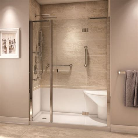 Neptune Koya Shower   Corner Shower Base & Door