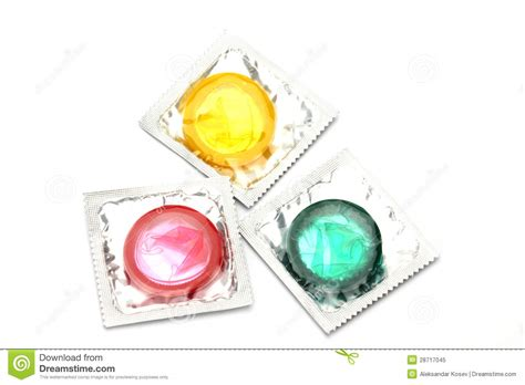 colored condoms colored condoms royalty free stock photo image 28717045
