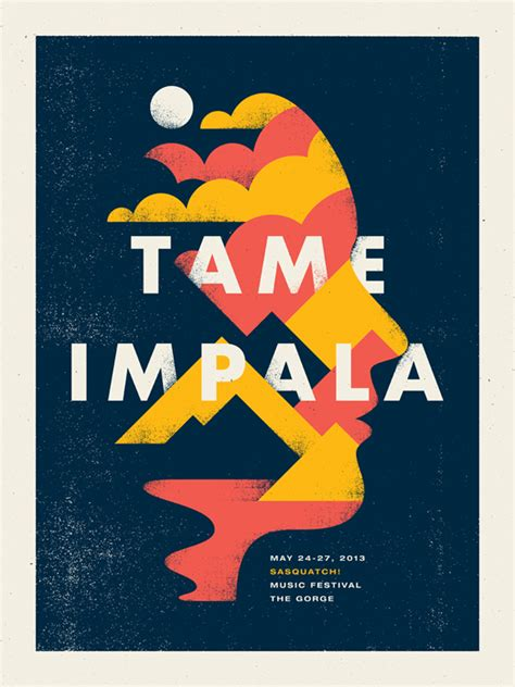 design poster band tameimpala by doublenaut design pinterest tame