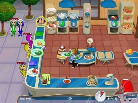Kitchen Dash by Cooking Dash 2 Dinertown Studios Free