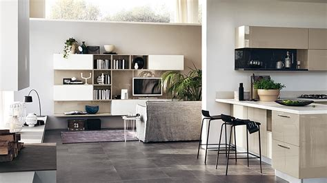 Storage Cupboards For Kitchens - modular living area kitchen compositions versatile trendy designs