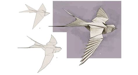A Paper Bird - bird research kite