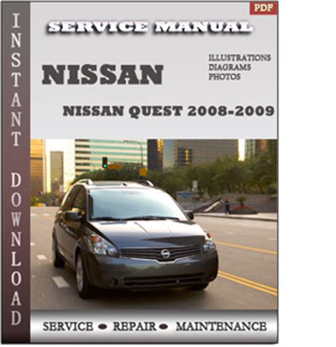 auto air conditioning service 2009 nissan quest head up display 2008 2009 nissan quest v42 service repair manual