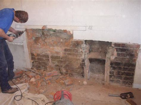 Building An Inglenook Fireplace by Pin Inglenook Fireplace Built To Incorporate A Bakers Oven