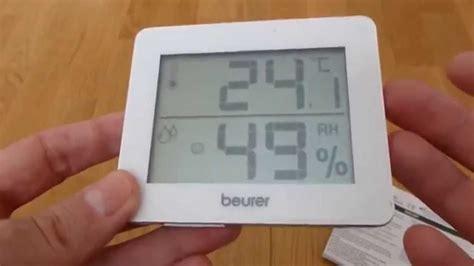 Diskon Beurer Hm 16 Thermo Hygrometer Digital beurer hm 16 thermometer and hygrometer
