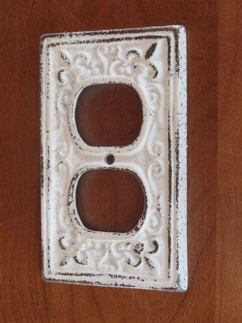 decorative outlet covers antique white decorative electrical outlet plate in