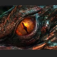 dragos dinu realistic eye design 3d printed the hobbit smaug s eye high resolution 98