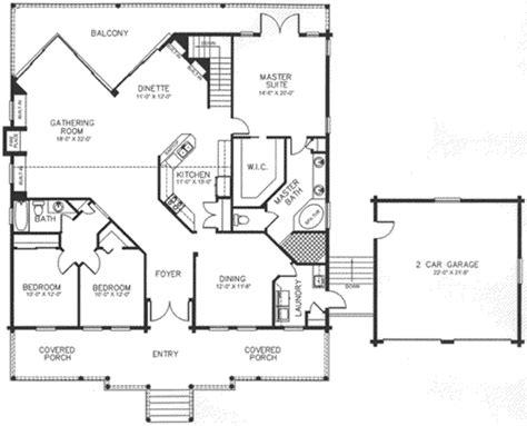 scott homes plan 2185 log style house plan 3 beds 2 baths 2185 sq ft plan 115 156