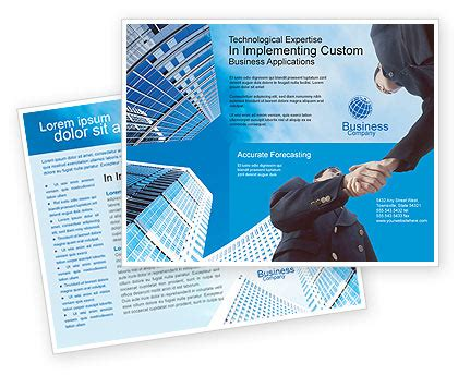 Business Meeting Outdoor Brochure Template Design And Layout Download Now 01818 Outdoor Flyer Template