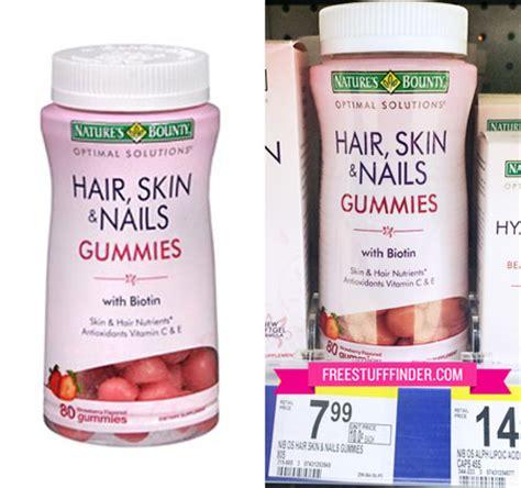 Natures Bounty Hair Skin Nails Gummies 120pc Vitamin Rambut 2 Reg 8 Nature S Bounty Hair Skin Nails Gummies At
