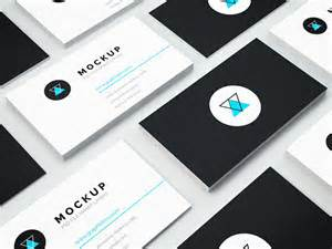 other uses for business cards 60 best free high quality psd business card mockups