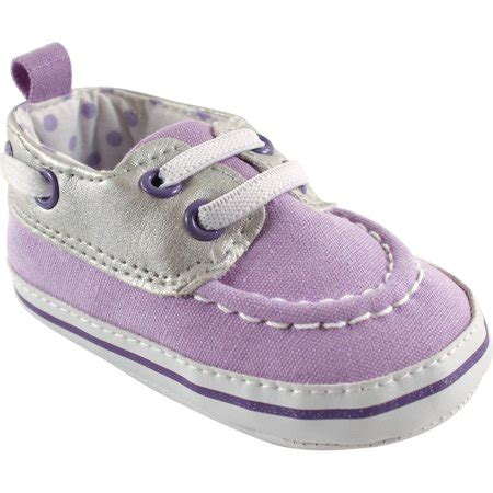 baby boat shoes luvable friends newborn baby girls boat shoes walmart