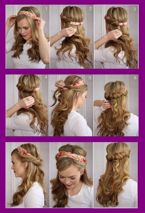 Hairstyles For Hair Step By Step Easy by Prom Hairstyles Step By Step