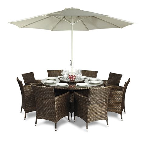 8 seater rattan outdoor patio garden furniture
