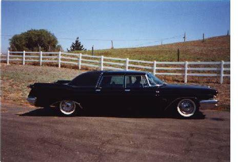 Nelson Chrysler by Nelson Rockefeller S 1960 Chrysler Imperial Limousine By