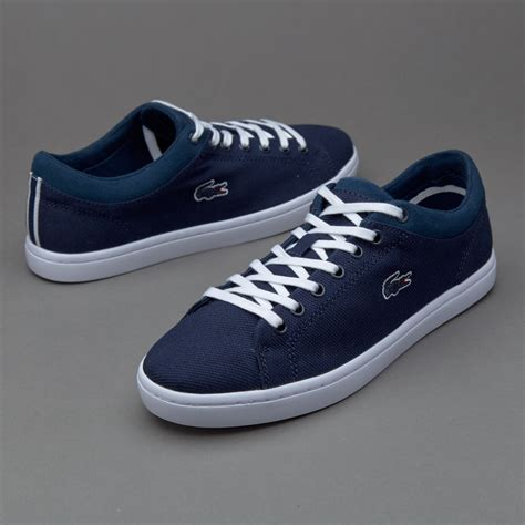 womens lacoste sneakers lacoste straightset womens shoes navy mtpwh1266 www