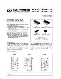 HCF4011 DATASHEET PDF