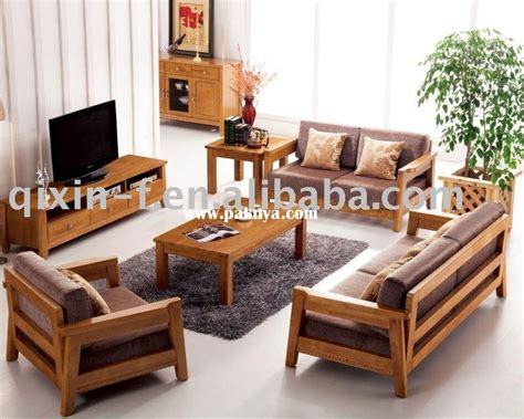 Wooden Living Room Set by 25 Best Ideas About Wooden Sofa Set Designs On