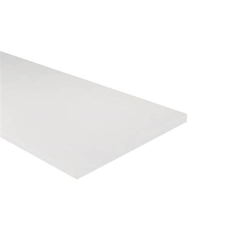 azek trim 3 4 in x 11 1 4 in x 8 ft s2strim pvc board