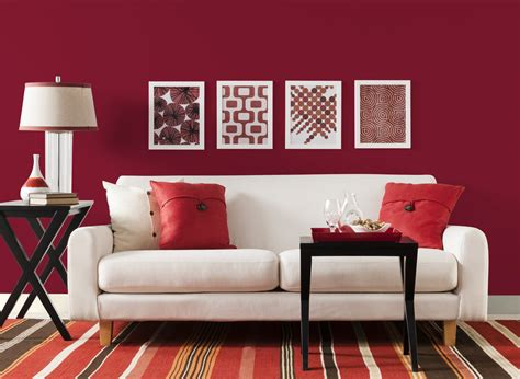 red color schemes for living rooms red paint in living room peenmedia com