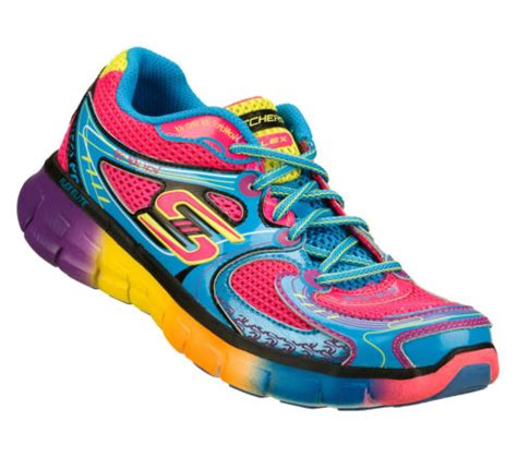 multi colored athletic shoes skechers multi colored running shoes emrodshoes