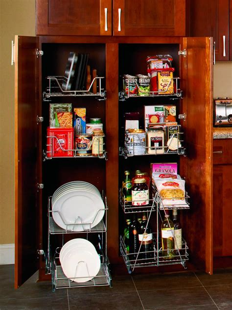 Kitchen Storage Organizers by Organize Your Kitchen Pantry Hgtv