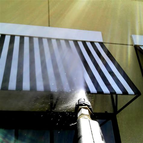 how to clean canvas awnings cleaning awning 28 images cleaning an awning 28 images