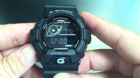 G Shock Gr8900a 1dr casio g shock blackout gr8900a 1 tough solar