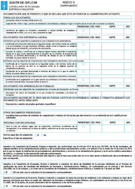 Modelo Curriculum Normalizado Curriculum Vitae Modelo Normalizado Xunta De Galicia Modelo De Curriculum Vitae