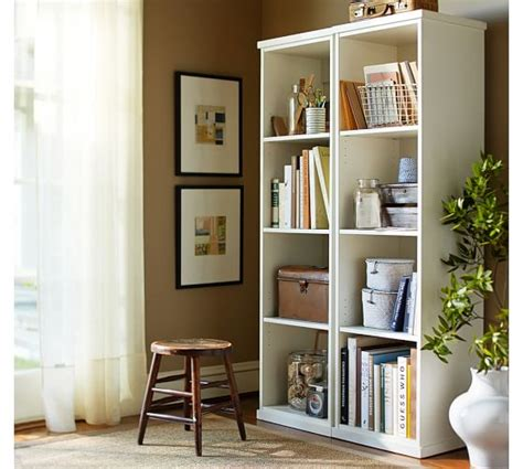 bedford narrow bookcase pottery barn