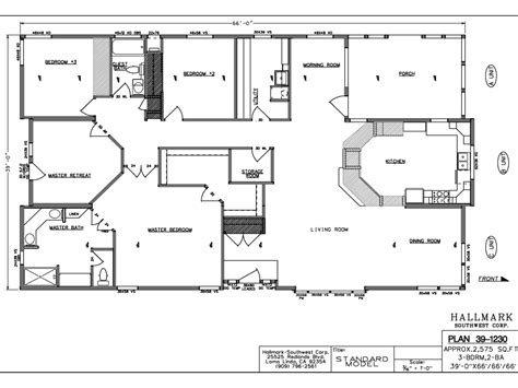 Floor Plans Fleetwood Wide Mobile Homes Manufactured Mobile
